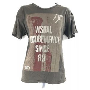 Obey Visual Disobedience Since 89 Graphic Tee